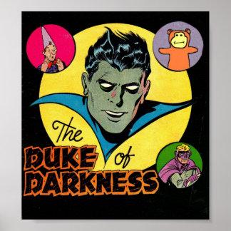 黄金時代の喜劇的な芸術-暗闇の漫画の公爵 ポスター