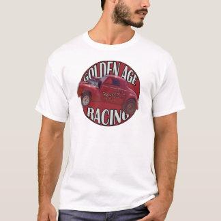 黄金時代のWillys Gasserのドラッグの競争の赤 Tシャツ