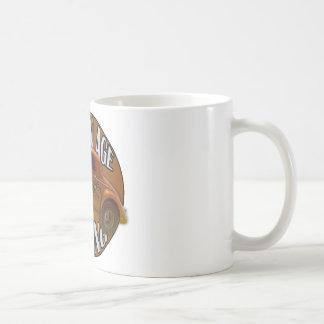 黄金時代のWillys Gasserのドラッグの競争の金ゴールド コーヒーマグカップ