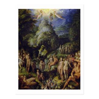 黄金時代、c.1570 (パネルの油) ポストカード