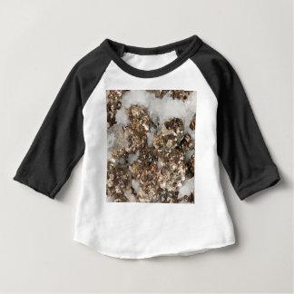 黄鉄鉱および水晶 ベビーTシャツ
