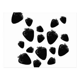 黒いいちご ポストカード