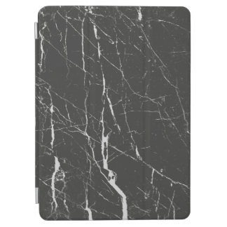 黒いおよび灰色の大理石パターン iPad AIR カバー