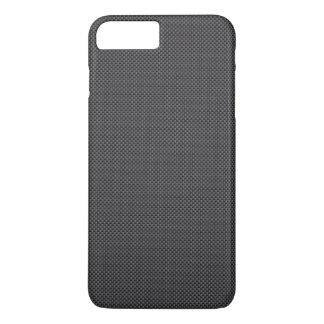 黒いおよび灰色カーボン繊維ポリマー iPhone 8 PLUS/7 PLUSケース