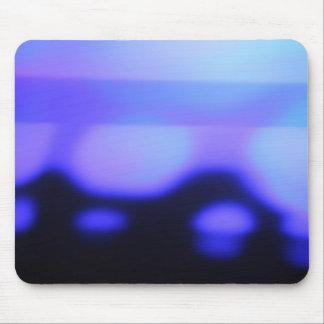 黒いおよび青の抽象的なmousepad マウスパッド