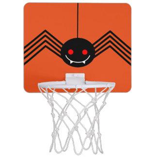 黒いくもの小型バスケットボールのゴール ミニバスケットボールゴール