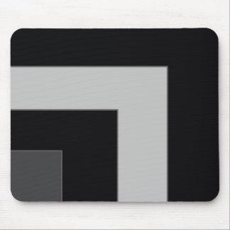 黒いですか灰色色のコーナー(MB) マウスパッド