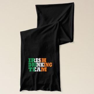 黒いアイルランドの飲むチーム スカーフ