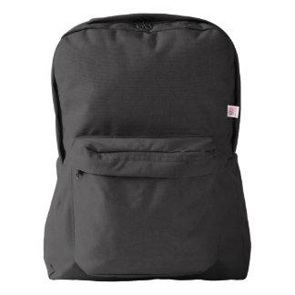 黒いアメリカ人のApparel™のバックパック American Apparel™バックパック