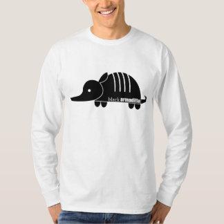 黒いアルマジロ Tシャツ