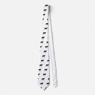 黒いアンガス オリジナルネクタイ