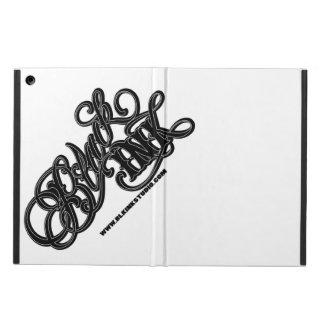 黒いインク空港箱 iPad AIRケース