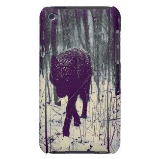 黒いオオカミ Case-Mate iPod TOUCH ケース