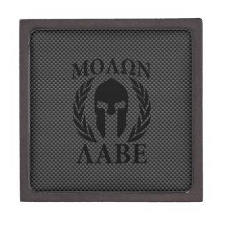 黒いカーボンのMolon Labeの戦士の月桂樹 ギフトボックス