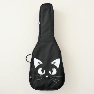 黒いギターの箱のCAT ギターケース