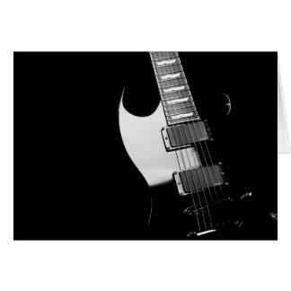 黒いギター カード
