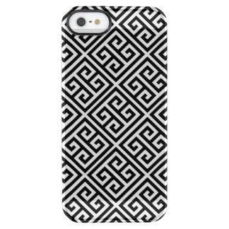 黒いギリシャ人の鍵|の珍しいiPhoneの箱 クリア iPhone SE/5/5sケース