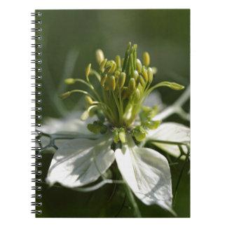 黒いクミンの花 ノートブック