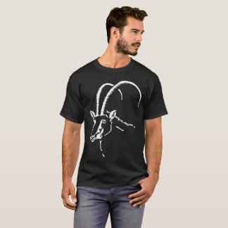 黒いクロテン、アンゴラの記号 Tシャツ