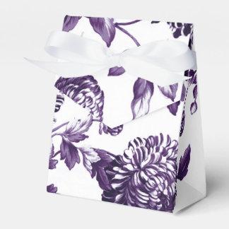 黒いクワ紫色の花のToile No.2 フェイバーボックス