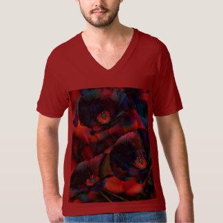 黒いケシ Tシャツ