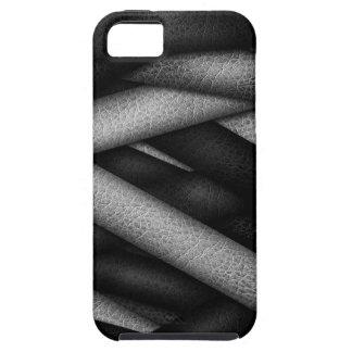 黒いコードカバー iPhone SE/5/5s ケース