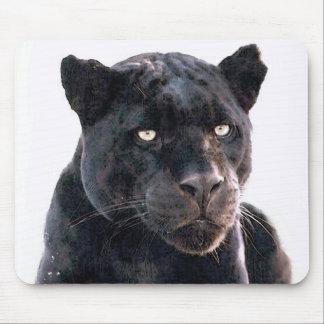 黒いジャガー マウスパッド