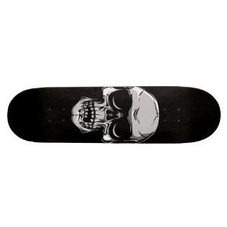 黒いスケートボードのサングラスが付いているスカル 21.6CM スケートボードデッキ