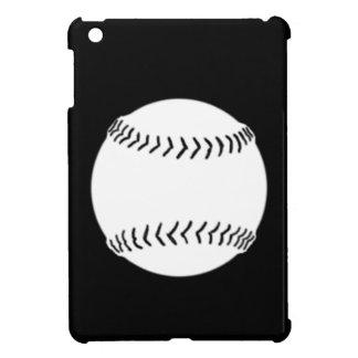 黒いソフトボールのシルエットのiPad Miniケース iPad Miniカバー