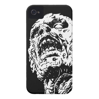 黒いゾンビのiPhone 4 4sカバー袖 Case-Mate iPhone 4 ケース