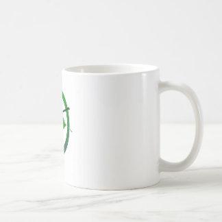 黒いタカ コーヒーマグカップ