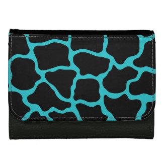 黒いターコイズのキリンの財布