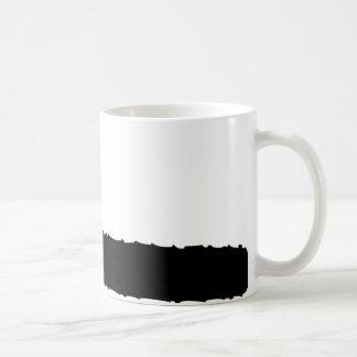 黒いチェーンソー コーヒーマグカップ