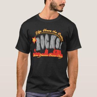黒いティーのためのデザイン Tシャツ