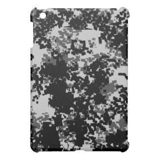 黒いデジタルカムフラージュのiPadの箱 iPad Miniカバー
