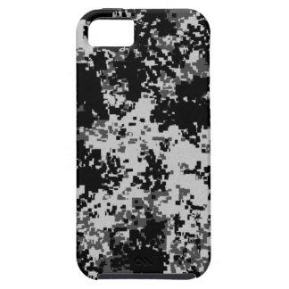 黒いデジタルカムフラージュのiPhone 5の箱 iPhone SE/5/5s ケース