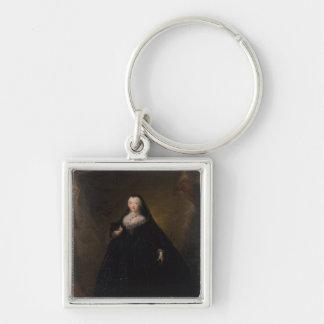 黒いドミノ1748年の皇后エリザベス キーホルダー