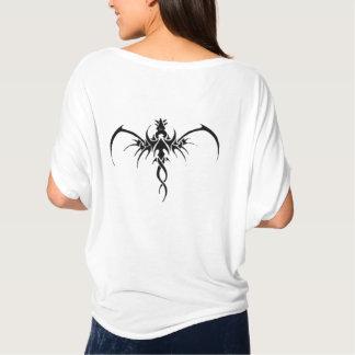 黒いドラゴンのtatto tシャツ