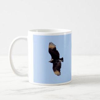 黒いハゲタカ コーヒーマグカップ