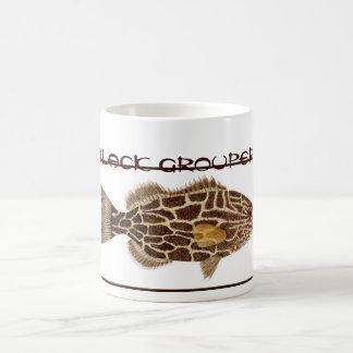黒いハタのマグ コーヒーマグカップ