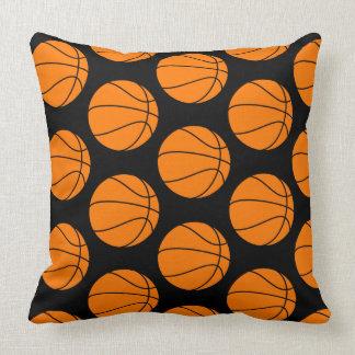 黒いバスケットボールTP クッション