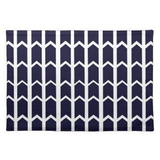 黒いパネルの塀 ランチョンマット