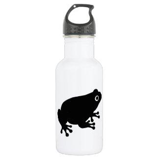 黒いヒキガエルのカエル ウォーターボトル