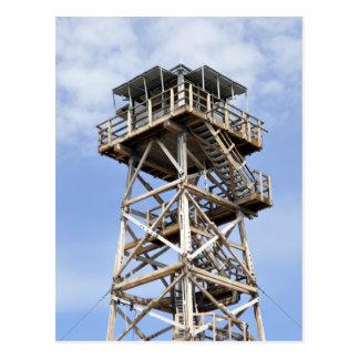 黒いビュートの眺望タワー ポストカード