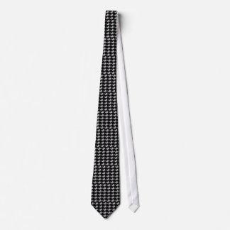 黒いファッションのアンディーWhale-Hole™_grey オリジナルネクタイ