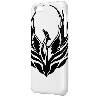 黒いフェニックスの携帯電話の箱 iPhone5Cケース