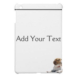 黒いブラウンおよび白いビーグル犬犬 iPad MINI CASE