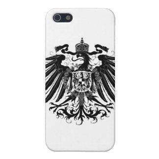 黒いプロイセンのワシ iPhone 5 COVER