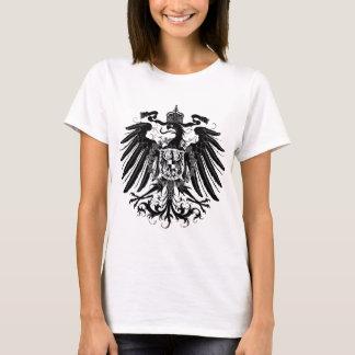黒いプロイセンのワシ Tシャツ