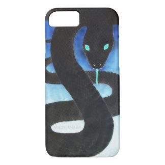 黒いヘビの黒福蛇KUROFUKUJYA. iPhone 7ケース